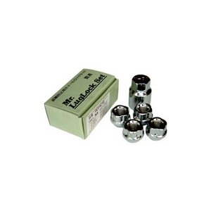 ロックナット(キー付き)セット【4コ入】貫通タイプ M12×P1.5 21HEX|rca