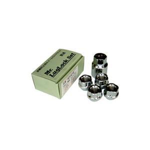 ロックナット(キー付き)セット【4コ入】貫通タイプ  M12×P1.25 21HEX|rca