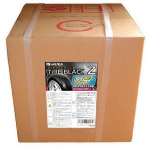 水性 レザー&タイヤワックス タイヤWAX  タイヤブラックZ 18L LW20|rca