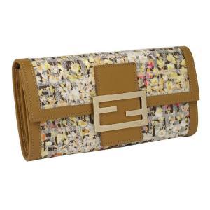 フェンディ  fendi 二つ折り長財布小銭入付き 8m0021-00fcf-f0qfx フラワー|rcmdfa