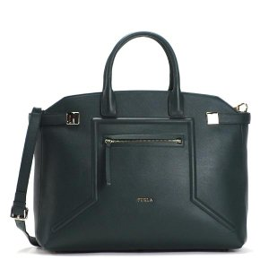 フルラ FURLA トートバッグ BDV7 ALICE L TOP HANDLE PETROLIO GR|rcmdfa