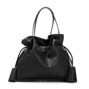ロエベ loewe ショルダーバッグ flamenco 380.34.e16 flamenco 30 black bk|rcmdfa