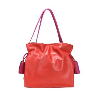 ロエベ loewe ショルダーバッグ flamenco 380.82.e16 flamenco 30 coral or|rcmdfa