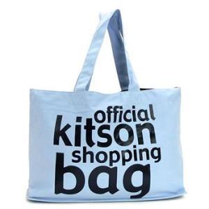 キットソン KITSON トートバッグ KHB0141 SHOPPER LT BLUE|rcmdfa