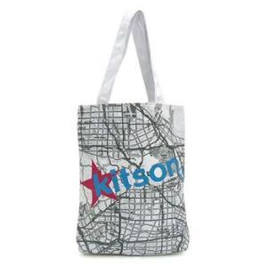 キットソン KITSON トートバッグ KHB0156 BOOK BAG WHITE|rcmdfa