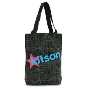 キットソン KITSON トートバッグ KHB0166 BOOK BAG BLACK|rcmdfa