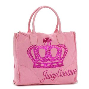JUICYCOUTURE ジューシークチュール トートバッグ 1 YHRU1709 QUEEN OF CUTURE NARDELS PK|rcmdfa