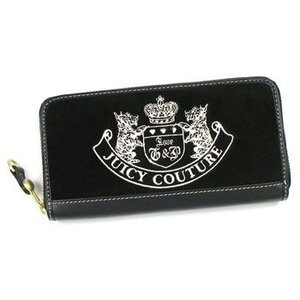 JUICYCOUTURE ジューシークチュール 長財布 長札 REPLENISHMENT SLGS YSRU1028 BLACK/BLACK BK|rcmdfa