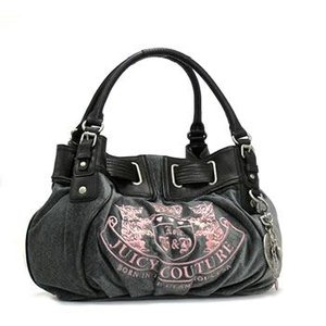 JUICYCOUTURE ジューシークチュール ショルダーバッグ REPLENISHMENT HANDBA YHRU1874 HEATHER PRESTIGE/BLACK GY|rcmdfa