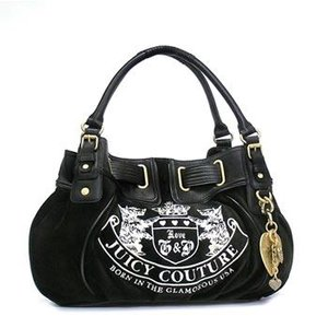 JUICYCOUTURE ジューシークチュール ショルダーバッグ REPLENISHMENT HANDBA YHRU1874 MD FREE STYLE BLACK/BLACK BK|rcmdfa