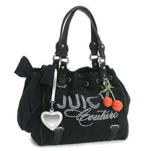 JUICYCOUTURE ジューシークチュール ショルダーバッグ REPLENISHMENT HANDBA YHRU1937 JUICY CHIC DAYDREAMER BLACK BK|rcmdfa