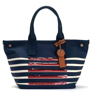 マークバイマークジェイコブス MARC BY MARC JACOBS トートバッグ M0007858 BEACH TOTE NEW PRUSSIAN BLUE W/ ECRU BL|rcmdfa