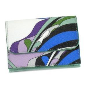 エミリオ・プッチ emilio pucci カードケース 11se42 coin purse gr|rcmdfa