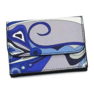 エミリオ・プッチ emilio pucci カードケース 11se42 coin purse bl|rcmdfa