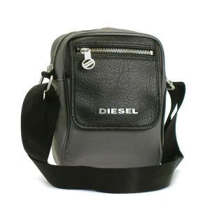 ディーゼル diesel ショルダーバッグ on the road…again xp02 fellow charcoal gray gy|rcmdfa