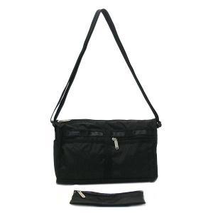 レスポートサック lesportsac バッグ 斜めがけ mens/guys 7519 deluxe shoulder satchel bk|rcmdfa