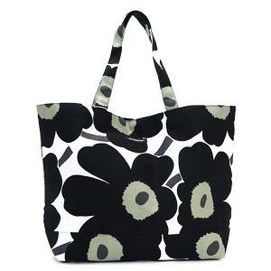 マリメッコ marimekko トートバッグ 38151 PIENI UNIKKO BAGS WHITE/BLACK BK|rcmdfa