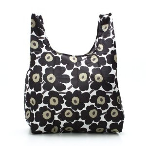マリメッコ marimekko トートバッグ 38695 MINI UNIKKO WHITE/BLACK/OLIVE BK|rcmdfa