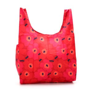 マリメッコ marimekko トートバッグ 38695 MINI UNIKKO RED/DARK RED RED|rcmdfa