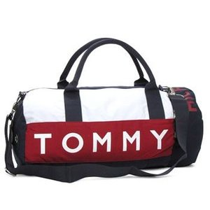 トミー・ヒルフィガー tommy hilfiger ボストンバッグ 390532 l500039 small duffle harbour point navy/white|rcmdfa