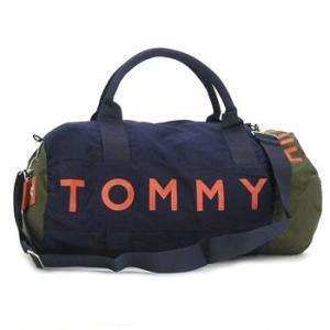 トミー・ヒルフィガー tommy hilfiger ボストンバッグ 390532 l500039 small duffle harbour point navy/desert green|rcmdfa