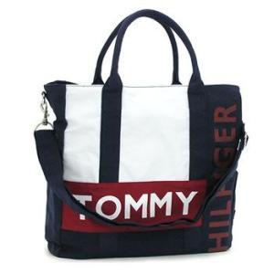 トミー・ヒルフィガー tommy hilfiger トートバッグ 390563 harbour point navy/white|rcmdfa