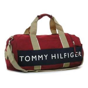 トミー・ヒルフィガー tommy hilfiger ボストンバッグ l400314(l500080) duffle outback red/navy|rcmdfa