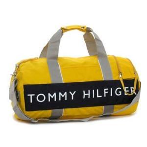 トミー・ヒルフィガー tommy hilfiger ボストンバッグ l400314(l500080) duffle outback yellow/navy|rcmdfa