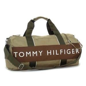 トミー・ヒルフィガー tommy hilfiger ボストンバッグ l400314(l500080) duffle outback khaki/brown|rcmdfa