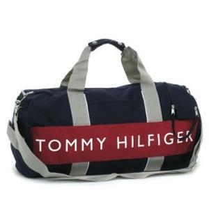トミー・ヒルフィガー tommy hilfiger トートバッグ l400314(l500080) duffle outback navy/red|rcmdfa