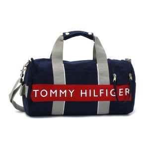 トミーヒルフィガー tommy hilfiger ボストンバッグ logo classics 6912658(l200230) mini duffle navy/red nv|rcmdfa
