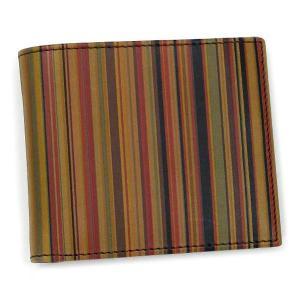 ポールスミス paul smith 財布 二つ折りカード w217 agxa1032 shopping grande 1 vu|rcmdfa