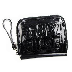 シーバイクロエ see by chloe 二つ折り財布 小銭入 zip file pvc 9p7238 square zipped wallet black bk|rcmdfa