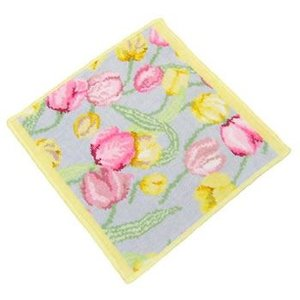 フェイラー FEILER タオル PRIMAVERA GREY YELLO WASH CLOTH 30/30 タオル30X30 YELLOW|rcmdfa