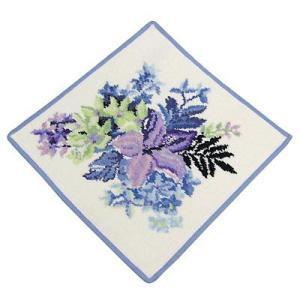 フェイラー FEILER タオル タオル30X30 TROPICAL GARDEN BLUE WASH CLOTH 30/30 BLUE|rcmdfa