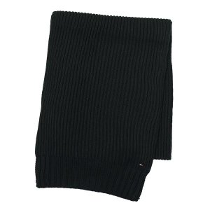 トミーヒルフィガー tommy hilfiger マフラー 1957861324 jason scarf tommy black bk|rcmdfa