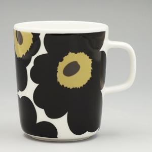 マリメッコ marimekko マグカップ 63431 MUG 2.5DL WHITE/BLACK BK|rcmdfa