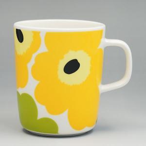 マリメッコ marimekko マグカップ 63431 MUG 2.5DL WHITE/LIME LIME|rcmdfa