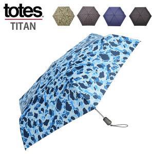 TOTES トーツ 折りたたみ傘 TOTES タイタン 55cm 4sec 8661 メンズ レディ...