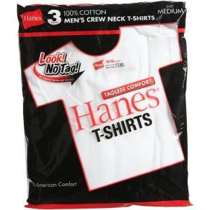 Hanes ヘインズ 赤ラベルクルーネックTシャツ 3枚組 HM2135G rcmdfa