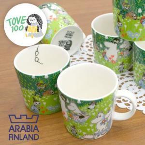 ARABIA アラビア Moominマグ ムーミンマグ ジュビリー Tove's Jubilee 0.3L 6個セット|rcmdfa
