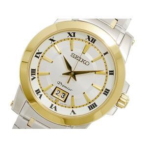 セイコー SEIKO Premier クォーツ メンズ 腕時計 SUR016P1