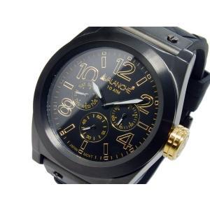 アバランチ AVALANCHE クオーツ メンズ 腕時計 AV1027-BKBK|rcmdfa