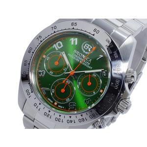 ブロニカ BRONICA 日本製 MADE IN JAPAN クオーツ メンズ クロノ 腕時計 BR817-GR|rcmdfa