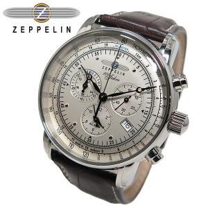 ツェッペリン ZEPPELIN 100周年記念 クオーツ メンズ クロノ 腕時計 7680-1|rcmdfa