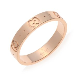 グッチ GUCCI レディース リング 指輪 JP7号 152045-J8500/5702/07 ローズ|rcmdfa