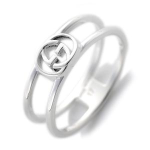 グッチ GUCCI レディース リング 指輪 JP18号 298036-J8400/8106/19 シルバー|rcmdfa