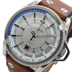 ディーゼル DIESEL ロールケージ クオーツ メンズ 腕時計 DZ1715 ホワイト|rcmdfa
