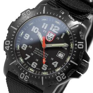 ルミノックス LUMINOX クオーツ メンズ 腕時計 4221-CW ブラック|rcmdfa
