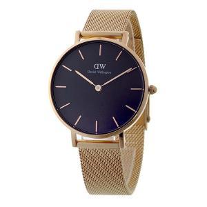ダニエル ウェリントン クラシックペティート メルローズ/ブラック  レディース 32mm 腕時計 DW00100161|rcmdfa|02